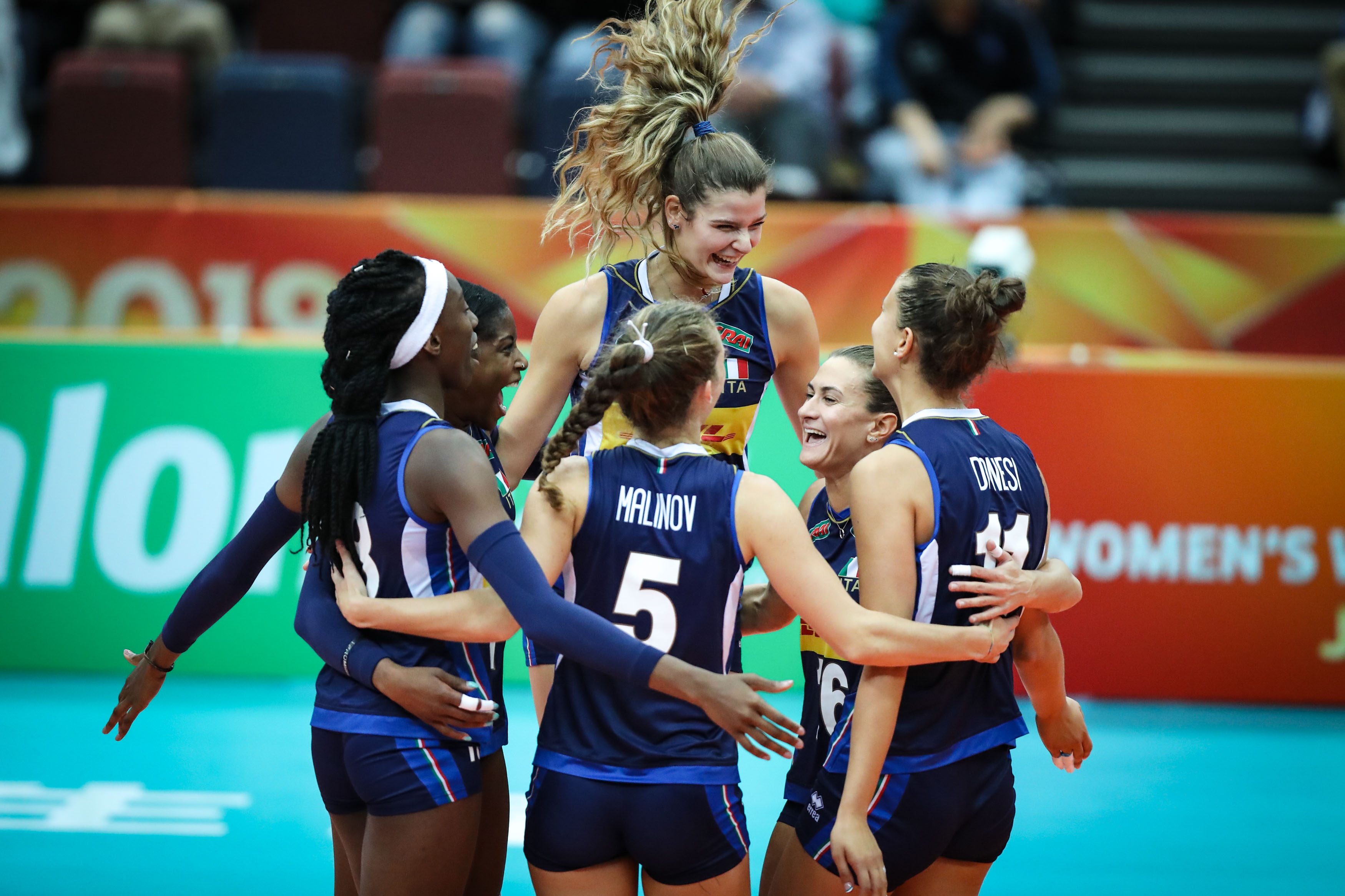Mondiali Volley, Italia-Russia: 3-1. Fenomenali! Azzurre alle Final Six