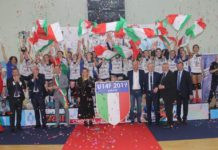 Gielle Imoco Volley S.Donà campione d'Italia Under14F
